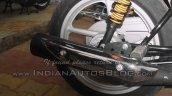 2015 Bajaj CT 100 exhaust spied