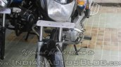 2015 Bajaj CT 100 front spied