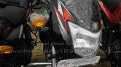 2015 Bajaj CT 100 headlight spied