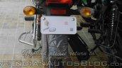 2015 Bajaj CT 100 rear spied