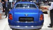 2015 Bentley Mulsanne Speed rear view at 2015 Geneva Motor Show