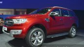2015 Ford Everest front three quarter (2015 Ford Endeavour) at the 2015 Bangkok Motor Show