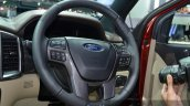 2015 Ford Everest steering wheel (2015 Ford Endeavour) at the 2015 Bangkok Motor Show
