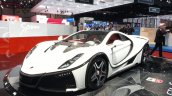2015 GTA Spano front three quarter view at the 2015 Geneva Motor Show
