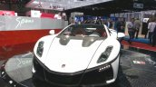 2015 GTA Spano front three quarter(2) view at the 2015 Geneva Motor Show