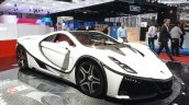 2015 GTA Spano front three quarter(4) view at the 2015 Geneva Motor Show