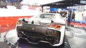 2015 GTA Spano rear three quarter view at the 2015 Geneva Motor Show