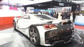 2015 GTA Spano rear three quarter(2) view at the 2015 Geneva Motor Show