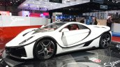 2015 GTA Spano side(2) view at the 2015 Geneva Motor Show