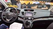 2015 Honda CR-V dashboard at 2015 Geneva Motor Show