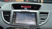 2015 Honda CR-V infotainment system at 2015 Geneva Motor Show