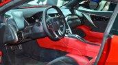 2015 Honda NSX interior view at 2015 Geneva Motor Show 10.01.13 pm