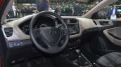 2015 Hyundai i20 Coupe dashboard at the 2015 Geneva Motor Show