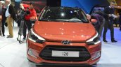 2015 Hyundai i20 Coupe front at the 2015 Geneva Motor Show
