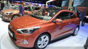 2015 Hyundai i20 Coupe front three quarter at the 2015 Geneva Motor Show