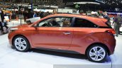 2015 Hyundai i20 Coupe side at the 2015 Geneva Motor Show