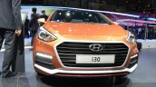2015 Hyundai i30 Turbo grille at the 2015 Geneva Motor Show