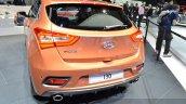 2015 Hyundai i30 Turbo rear at the 2015 Geneva Motor Show