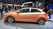 2015 Hyundai i30 Turbo side at the 2015 Geneva Motor Show