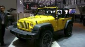 2015 Jeep Wrangler Rubicon Rocks Star front three quarters