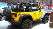 2015 Jeep Wrangler Rubicon Rocks Star rear three quarters right