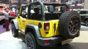 2015 Jeep Wrangler Rubicon Rocks Star rear three quarters