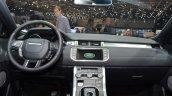 2015 Land Rover Evoque interior dashboard at the 2015 Geneva Motor Show