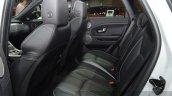 2015 Land Rover Evoque interior rear seats at the 2015 Geneva Motor Show