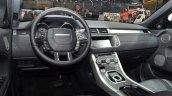 2015 Land Rover Evoque interior steering wheel at the 2015 Geneva Motor Show