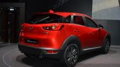 2015 Mazda CX-3 rear three quarter(2) view at 2015 Geneva Motor Show