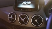 2015 Mercedes B Class facelift B200 CDI center console