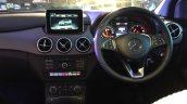 2015 Mercedes B Class facelift B200 CDI dashboard