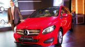 2015 Mercedes B Class facelift B200 CDI front angle