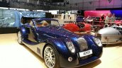 2015 Morgan Aero 8 Convertible front three quarter view at 2015 Geneva Motor Show