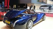 2015 Morgan Aero 8 Convertible rear three quarter view at 2015 Geneva Motor Show