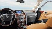 2015 Nissan Patrol dashboard