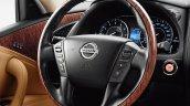 2015 Nissan Patrol steering