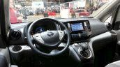 2015 Nissan e-NV200 7 seater dashboard at the 2015 Geneva Motor Show