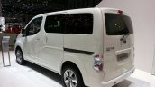 2015 Nissan e-NV200 7 seater rear three quarter at the 2015 Geneva Motor Show