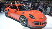 2015 Porsche 911 GT3 RS front three quarter(2) view at 2015 Geneva Motor Show