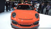 2015 Porsche 911 GT3 RS front view at 2015 Geneva Motor Show