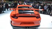 2015 Porsche 911 GT3 RS rear(2) view at 2015 Geneva Motor Show