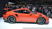 2015 Porsche 911 GT3 RS side view at 2015 Geneva Motor Show