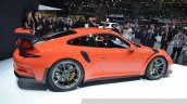 2015 Porsche 911 GT3 RS side(2) view at 2015 Geneva Motor Show