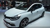 Clio Renaultsport 220 Trophy EDC front three quarters at the 2015 Geneva Motor Show