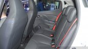 Clio Renaultsport 220 Trophy EDC rear seat at the 2015 Geneva Motor Show