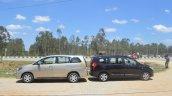 2015 Renault Lodgy Press Drive Toyota Innova size comparison