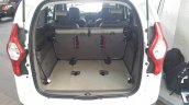 2015 Renault Lodgy Press Drive boot space with third row tumbled