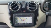 2015 Renault Lodgy Press Drive center console
