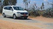 2015 Renault Lodgy Press Drive front dynamic shot